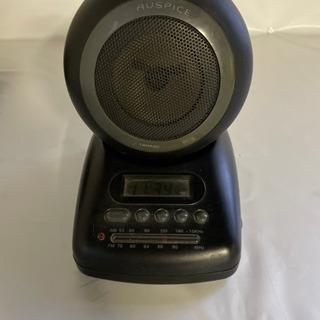 AUSPICE 置き時計型ラジオ