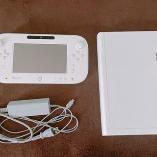 【早い者勝ち】【本体充電器なし】任天堂 WiiU 本体&パッド