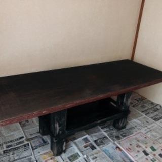 【6/20まで無料!】木製ダイニングテーブルもらってくださいの画像