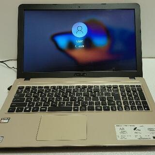 asusノートPC Windows10/メモリ4GB/Webカメ...