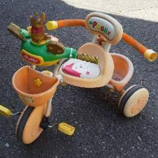 プーさん三輪車!無料