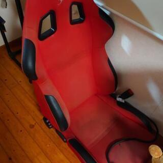 スパルコ  バケットシート  ビート用シートレール付