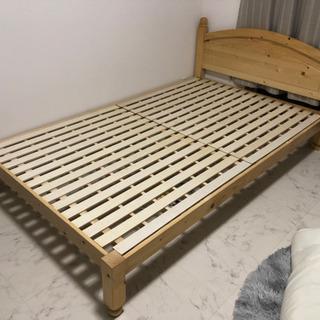 【ネット決済】ベッドフレーム すのこベッド セミダブル