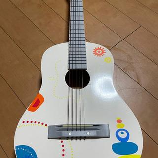 [差し上げます]ギター おもちゃ 1弦切れてます