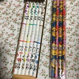 色鉛筆(12色) ミニオンズえんぴつ(4本)セット