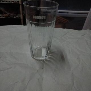 ドトールのグラス3個(口欠けあり)