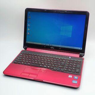 高性能Corei7 SSD搭載 Webカメラ 富士通 ノートパソコン