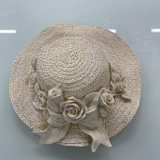 麦わら帽子型 インテリア