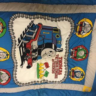 トーマスの布団、毛布