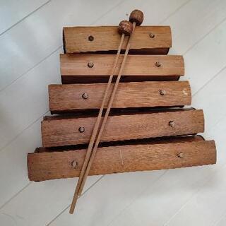 民族楽器 輸入雑貨の木琴