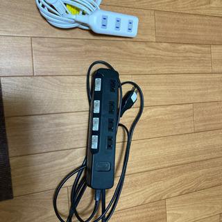 電源タップ 4口×2個