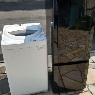 ☆★配送料無料★☆洗濯槽も清掃済み♪三菱168L冷蔵庫とTOSH...
