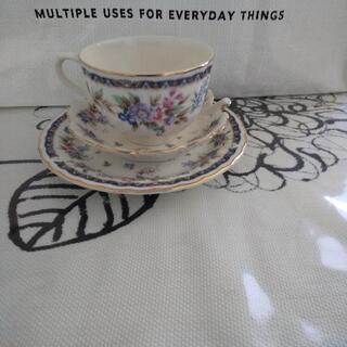 花柄コーヒーカップ