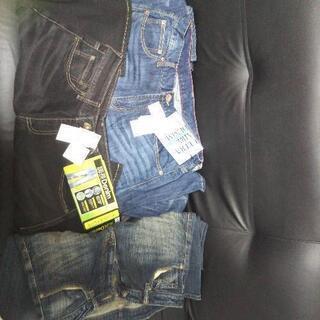 2本新品!メンズジーンズ3本セット!