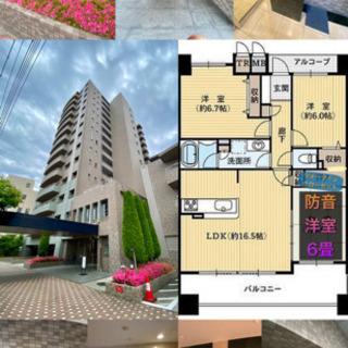 松本駅徒歩6分 マンション12階3LDK  ルームシェア可 賃料...