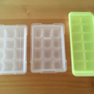 Richell⭐️フリージングブロックトレー&製氷皿⭐️離乳食保存に
