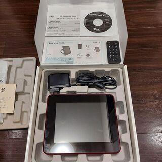 デジタルフォトフレーム(LG製)