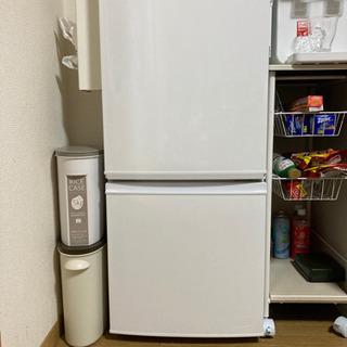【ネット決済・配送可】SHARP 冷蔵庫2018年製 美品
