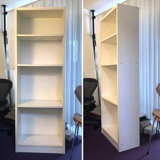 シンプルな書棚、多少汚れあり