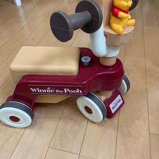 くまのプーさん三輪車