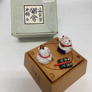 【😾はっけよいのこった〜👐】ネコ相撲 猫 置き物 小物入れ