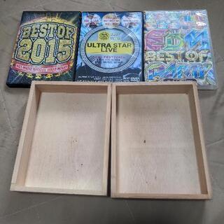 DVDと木箱