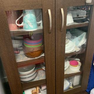 【500円】食器棚お譲りします!