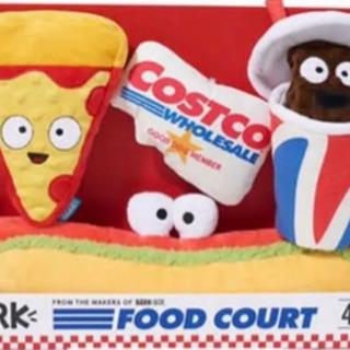 コストコ 限定ペット用おもちゃ BARK FOOD COURT