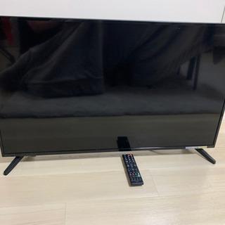 液晶割れ42型テレビ