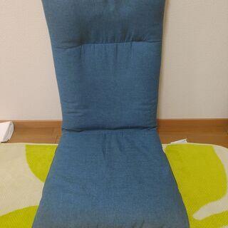 座椅子(アイリスプラザ デニムブルー)