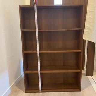 本棚(外寸高90cm、幅60.5cm、奥行17cm)