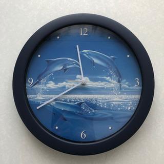 【取引者決定】イルカの掛け時計もらってください