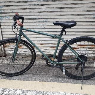 【ネット決済】【京都市内】クロスバイク