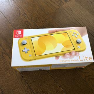 【ネット決済】新品 Nintendo Switchライト イエロー