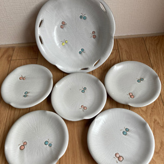【赤峰】深皿&小皿5枚セット自宅保管品