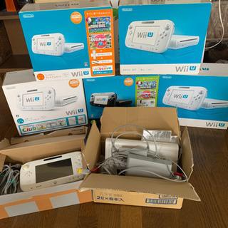 【ネット決済】WiiU 7台 セット 完動品