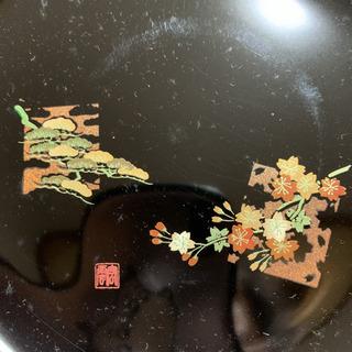 会津塗り 四季だより 銘々皿 5枚セット 本漆 木粉
