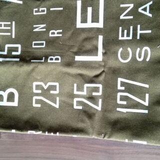 ハギレ 処分します❗ 厚手 帆布系の生地