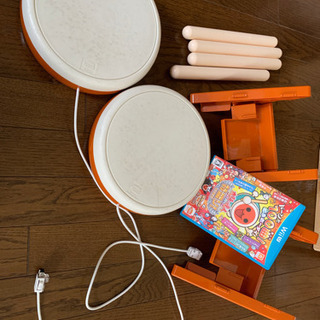 【ネット決済】WiiU用太鼓の達人 特盛 と 太鼓2セット