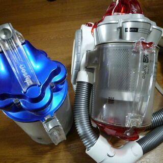 ●中古=クリアビン2個=ダイソン掃除機 DC12  本体電源スイ...
