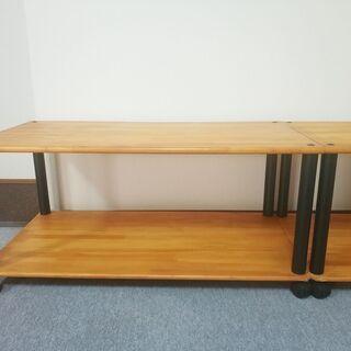木 棚 台 キャスター付 DIY 作成