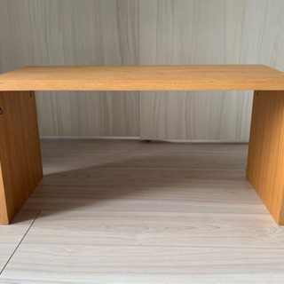 無印良品のコの字のテーブル