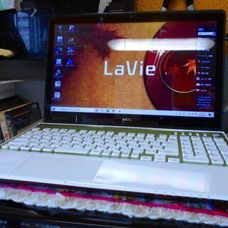 【ネット決済・配送可】NEC Lavie LS550/MSW-Y...