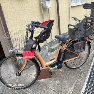 電動自転車 こども2人乗せ