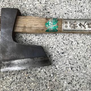 斧‼️オノ‼️研磨済み 小さめ 小型‼️研磨済み 切れ味抜群‼️