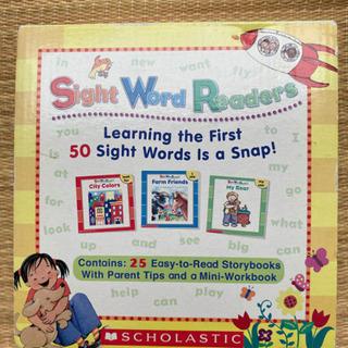 幼児英語本のセット
