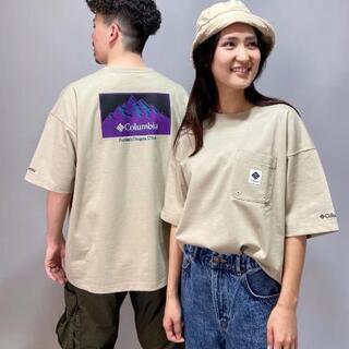 【ネット決済】ColumbiaコロンビアオーバーサイズTシャツXL