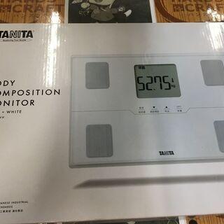 タニタ BC-315-WH 体重計 未使用品