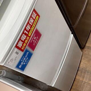 SHARP 2ドア冷蔵庫 SJ-D14E-W 2019年製 137L