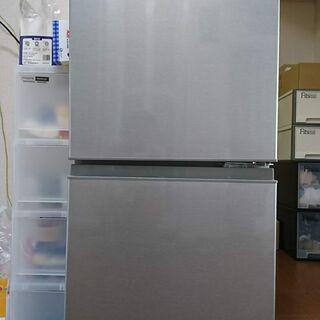 ■【引取】美品 AQUA 126L 2ドア冷蔵庫 AQR-13G...